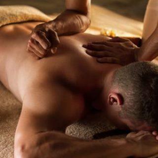 Lomi Lomi Nui - Massage eines Mannes
